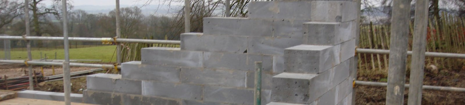 External Aircrete Solid Walls