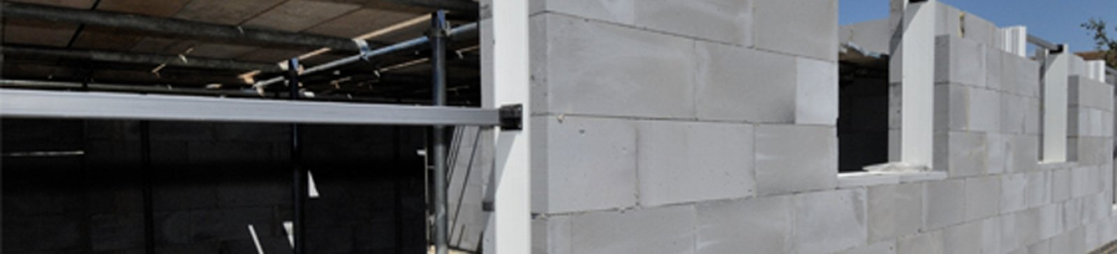 aircrete is used in residential extensions