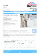 BBA 01-3816 Celcon Blocks Thin-Joint System
