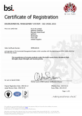 BSI Registration ISO 9001-14001 EMS 62131