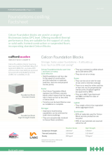 Foundation Costings - Factsheet 10