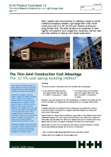 LGS vs Thin-Joint Masonry - Factsheet 12