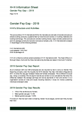 Gender Pay Gap 2019