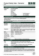 TSD86 Product Safety Data (Elements)